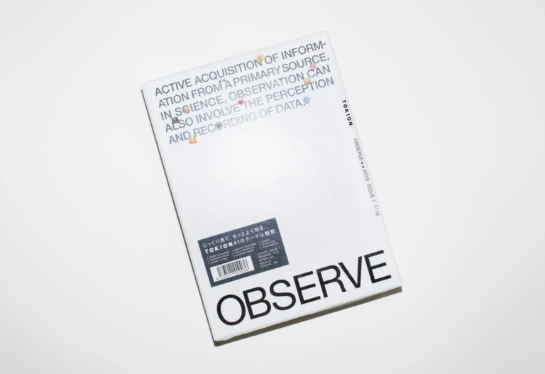 TOKION ISSUE OBSERVE